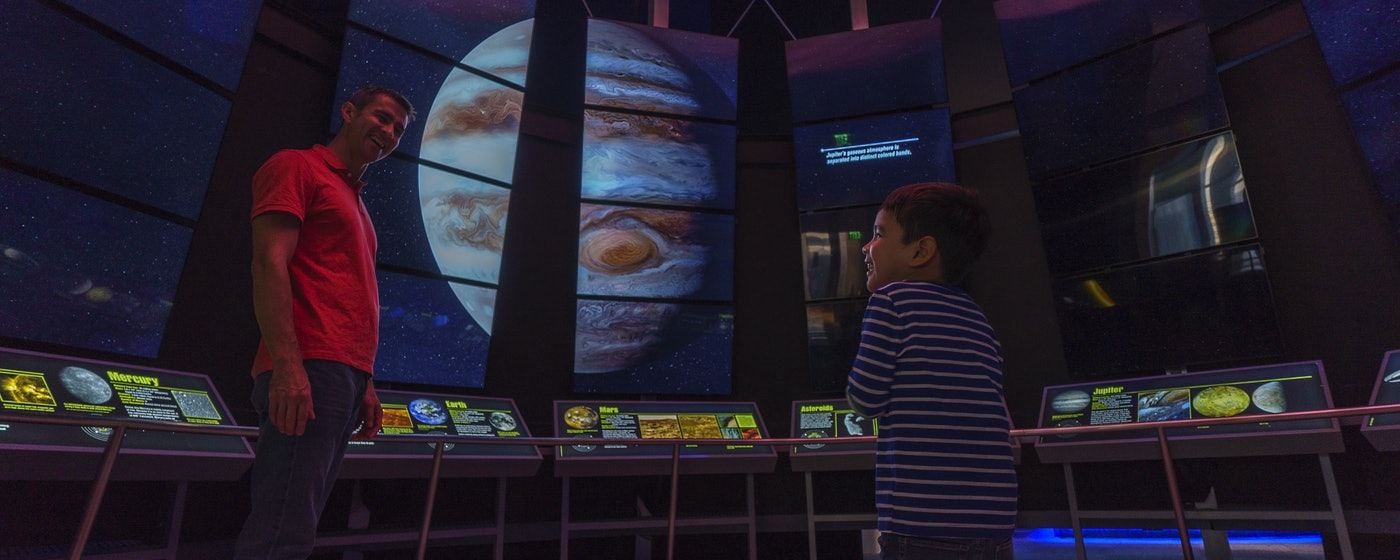 Dallas Astronomy Museum | Perot Museum of Nature and Science