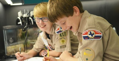 Scouting Adventures | Perot Museum of Nature and Science