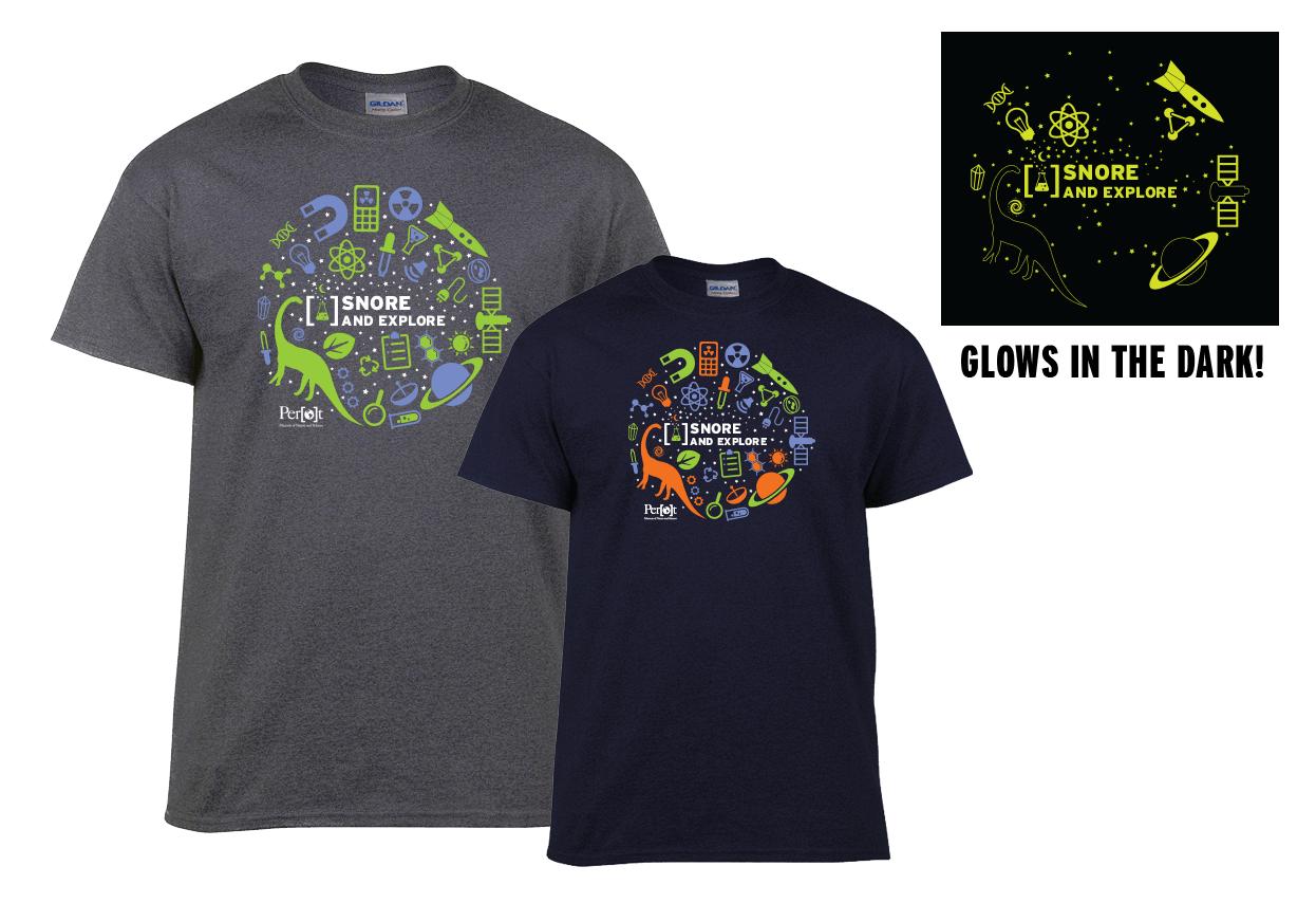 Dinosaur t-shirt examples.